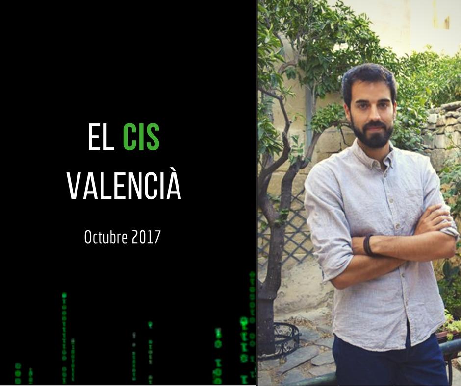 El CIS Valencià d'Octubre 2017