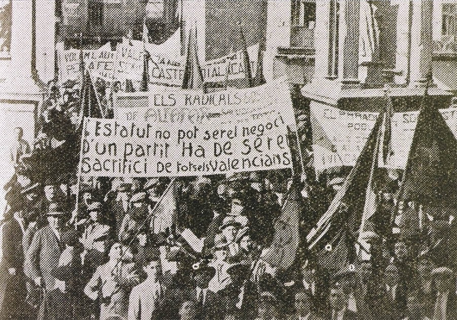 Transició Valenciana i estatut d'autonomia