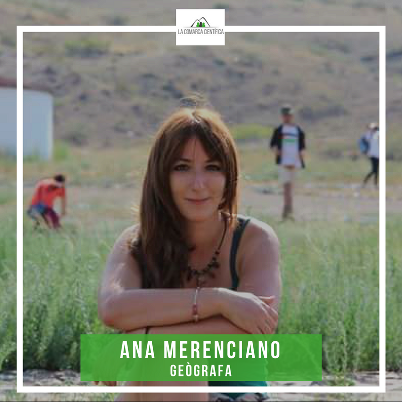 Ana Merenciano geògrafa valenciana