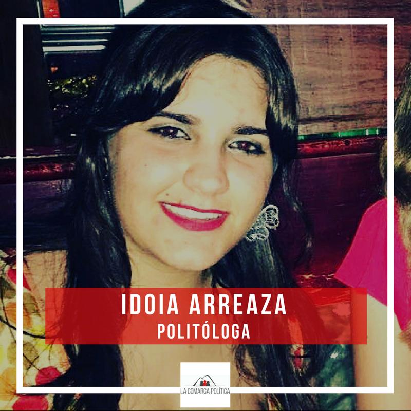 Idoia Arreaza, politóloga valenciana