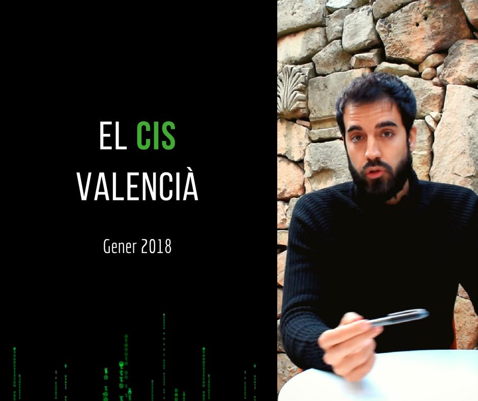 El CIS valencià de Gener 2018