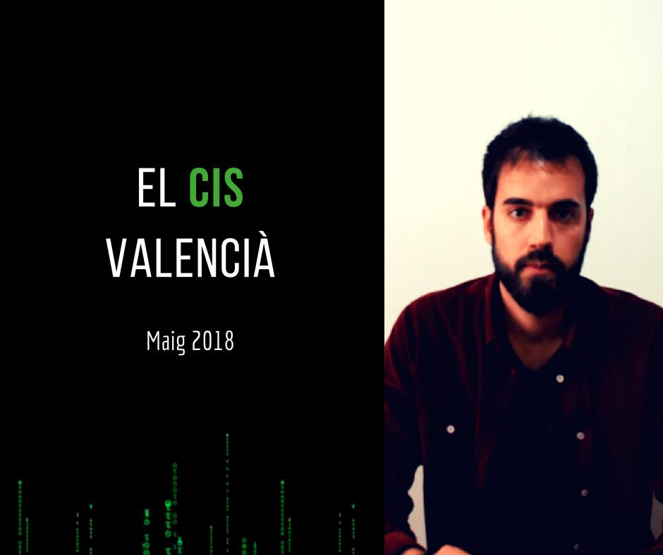 CIS valencià maig 2018