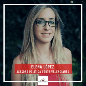 Elena López - Asesora política Corts