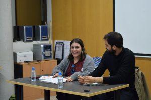 Alexis Lara i Idoia Arreaza a l'Horta Sud