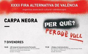 Fira Alternativa València - Viatge extrema dreta