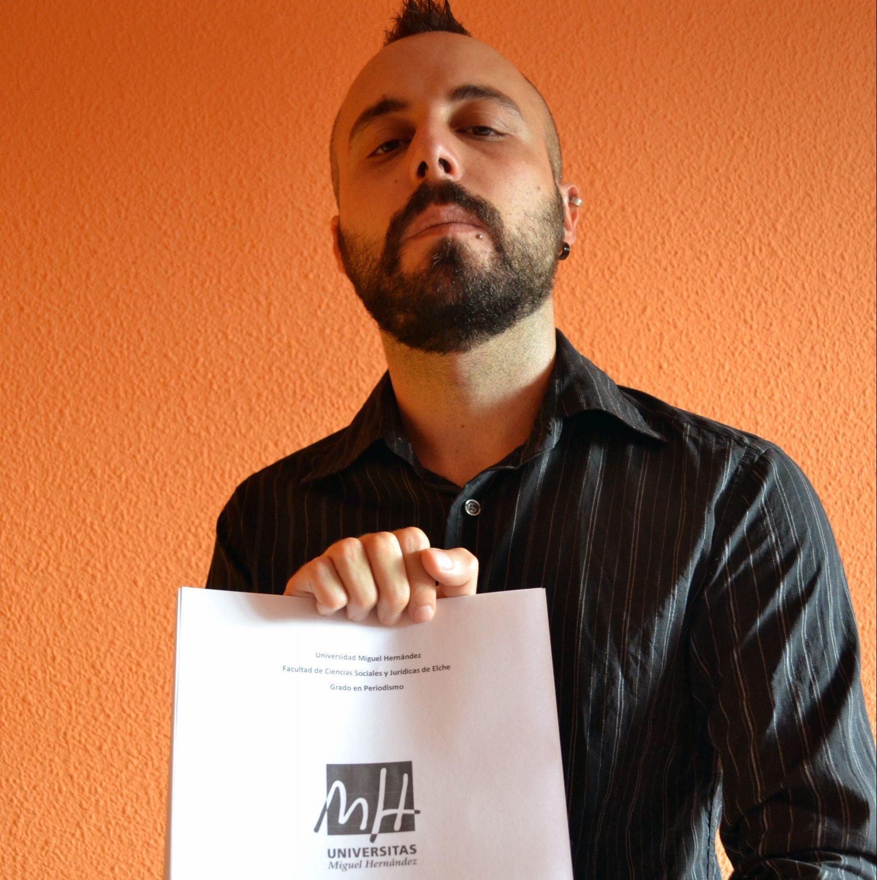TFG de Carlos Serrano sobre la crisi social, política i econòmica a Elx.