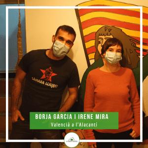 Borja Garcia i Irene Mira
